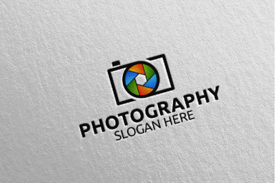 Abstract Camera Photography Logo 7