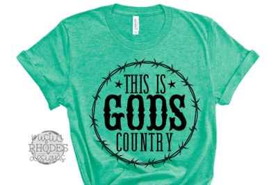 This Is God Country SVG / PNG Digital Cut File