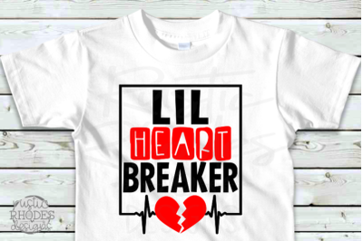 Lil Heart Breaker SVG / PNG Digital Cut File