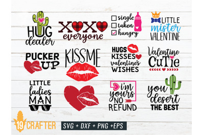 valentine day SVG craft bundle volume 4