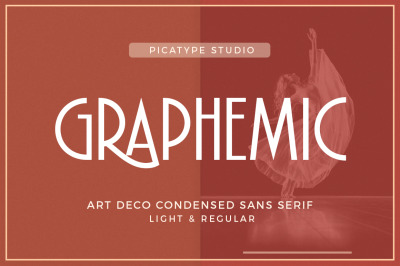 Graphemic | Deco Condensed Sans