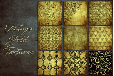Vintage Gold Textures