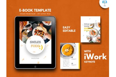 Recipe food presentation keynote template