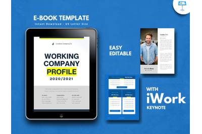 Company profile 2020 presentation keynote template