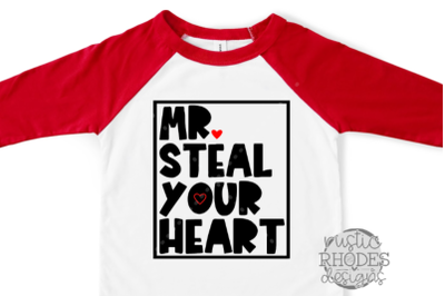 Mr. Steal Your Heart SVG / PNG Digital Cut File