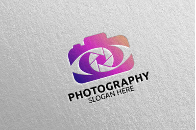 Abstract Camera Photography Logo 23