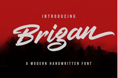 Brigan - Calligraphy Script Font