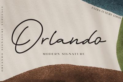 Orlando Signature + Extra Logo