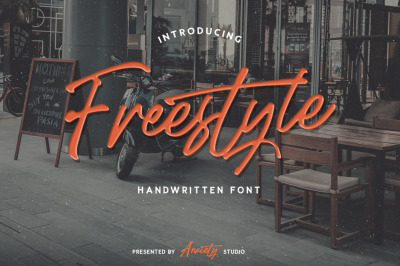Freestyle Handwritten Script