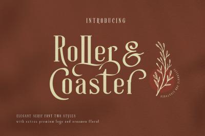 Roller Coaster Elegant Serif (Bonus)