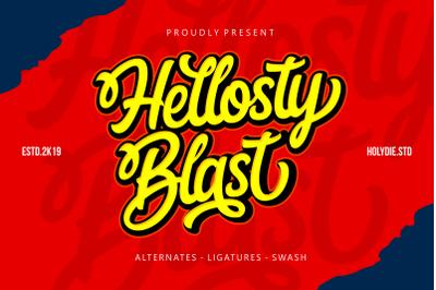 Hellosty Blast