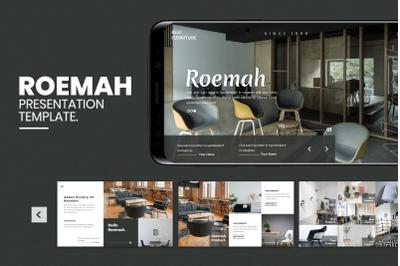 Roemah - Furniture & Home Decoration Google Slide Template