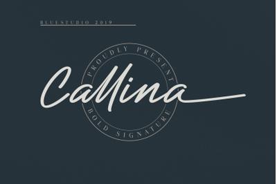 Callina // Bold Signature