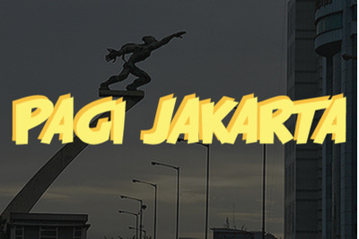Pagi Jakarta
