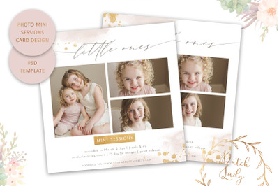 PSD Photo Session Card Template #52
