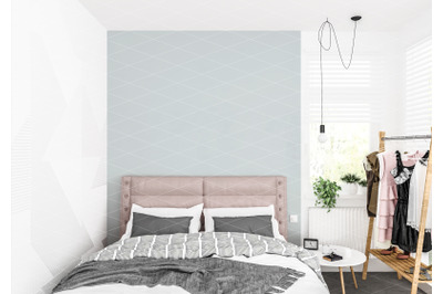 Interior scene - artwork background - interior mockup