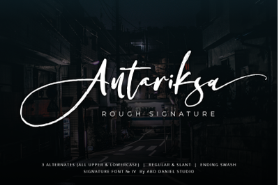 Antariksa -Rough Signature-
