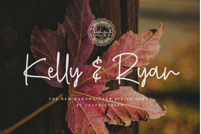 Kelly & Ryan | The Handwritten Font