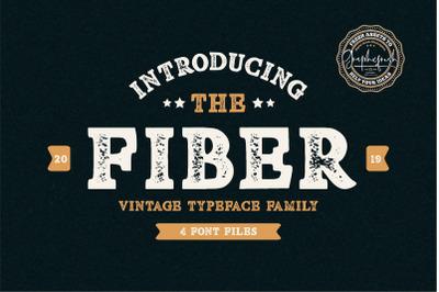 Fiber - Vintage Serif Font
