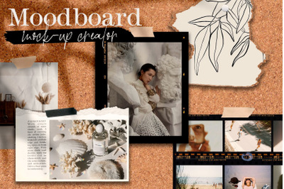stylish moodboard mock-up creator