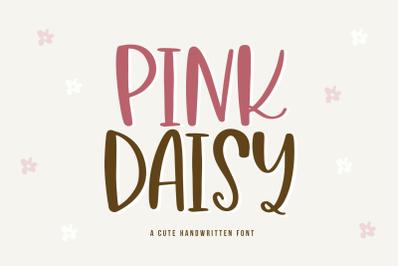 Pink Daisy - A Cute & Quirky Handwritten Font