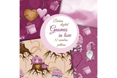 Gnomes in love pattern