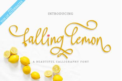 Falling Lemon