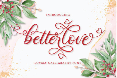 Betterlove Calligraphy