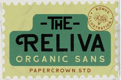 Reliva - Organic Sans (+EXTRA)
