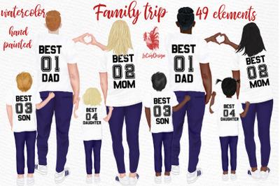 Family clip art Parents clipart Kids clipart Family figures