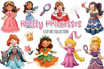 Pretty Princess Clip Art Collection