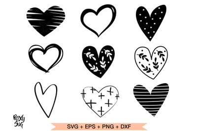 Heart svg, hearts svg, hearts clipart, heart shape svg