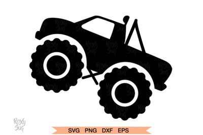 Truck SVG, Monster Truck svg, Truck Clipart, Monster truck SVG Files