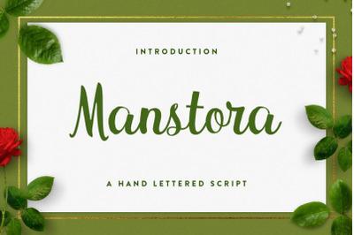 Manstora Script