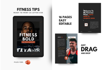Fitness Motivation Template PowerPoint