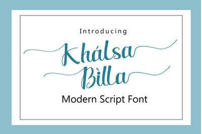 Khalsa Billa