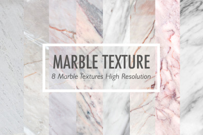 8 Marble textures collection