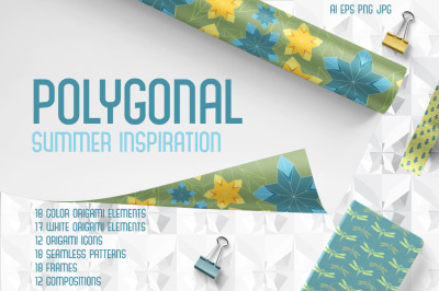 Polygonal. Origami inspirations