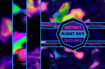 Night Sky. Abstract textures.