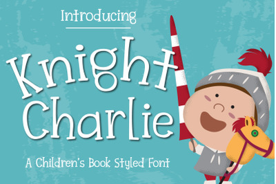 Knight Charlie - Children Font