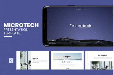 Microtech - Business Google Slides Template