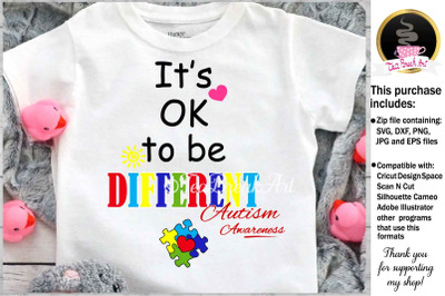 It's ok to be different 796