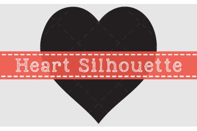 Heart silhouette Design