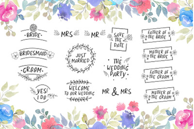 Wedding lettering quotes
