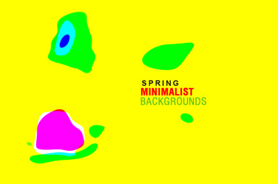Spring Minimalist backgrounds