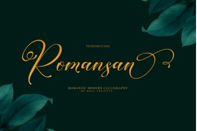 Romansan   Romantic Calligraphy