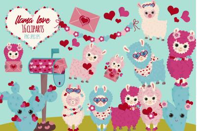 Llamas love