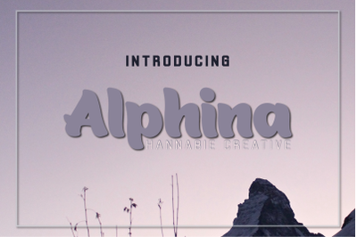 Alphina Font