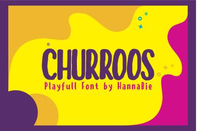 CHURROOS FONT