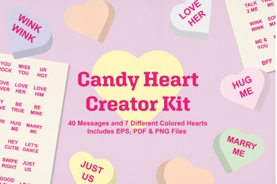 Candy Heart Creator Kit